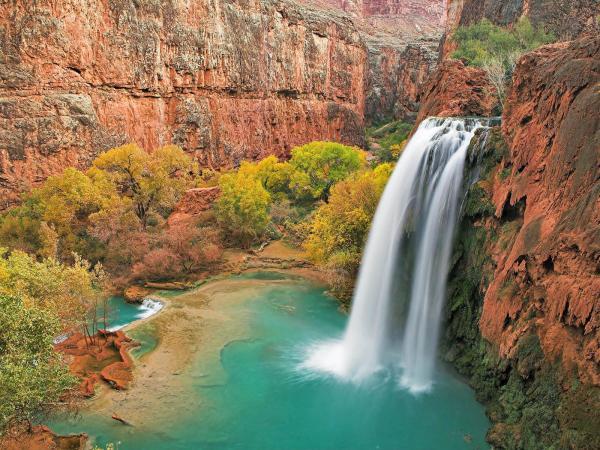 J'ai visité ces chutes lors de ma descente du Grand Canyon