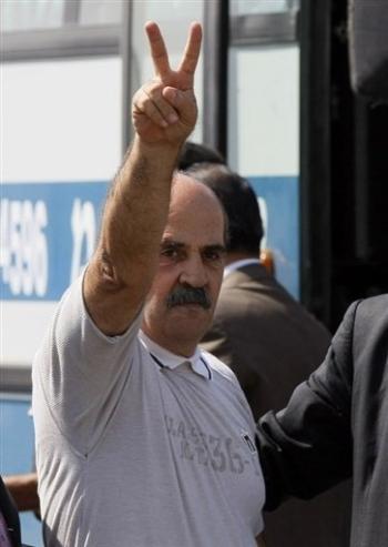 Le plus ancien détenu palestinien en Israël, Saïd Al-Attaba, en prison depuis 1977