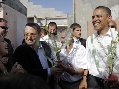 Obama à Sderot. Nous ne devons pas le laisser s'en tirer avec la langue de bois.