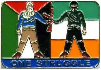 """Palestine-Irlande: une seule lutte"""": le mouvement républicain irlandais s'identifie naturellement à la résistance palestinienne depuis les années 1960"""