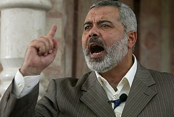Ismaïl Haniyeh, un des premiers dirigeants du Hamas et Premier Ministre du gouvernement palestinien élu