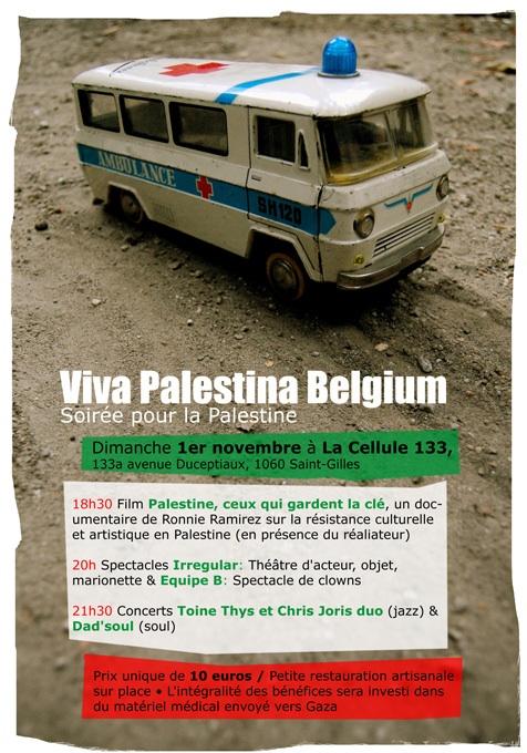 Visuel Palestine 1 nov