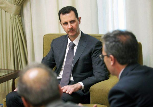 1 507 08.07 La totalité de l'ex-direction du parti Baas syrien a été écartée à l'exception du président Bachar al-Assad