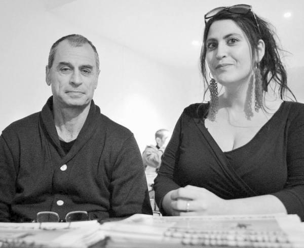 Eitan Bronstein Aparicio et Eléonore Bronstein.